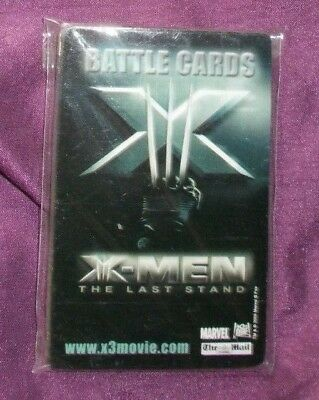 X-Men Last Stand Sealed Pack of Battle Cards - featuring Angel
