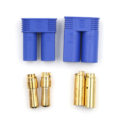 1Set Male Female RC EC5 Banana  Connector 5.0mm Gold Bullet Plug WD