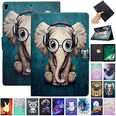 For iPad 9.7 2018 Mini 4 3 2 1 Pro Air 2 Case Smart Leather Magnetic Flip Cover