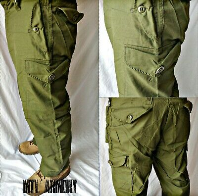 Canadian Forces Army  OD Combat Pants size 6740 Large-Short