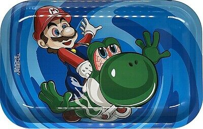 "Smoke Arsenal Premium Rolling Tray ""Super Mario-M32"" 6.5""x 11"""