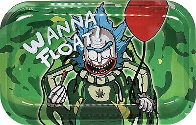 "Smoke Arsenal Premium Rolling Tray ""Wanna Float?-M88"" 6.5""x 11"""