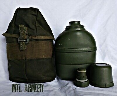 Canadian Forces Army Canteen Thermos And Carrier