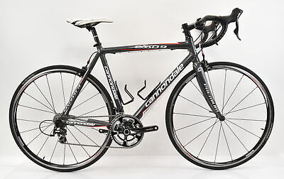 8273a9274ca Cannondale 2010 CAAD9 5 Aluminum Compact Bike 54cm Charcoal Grey/Red/White