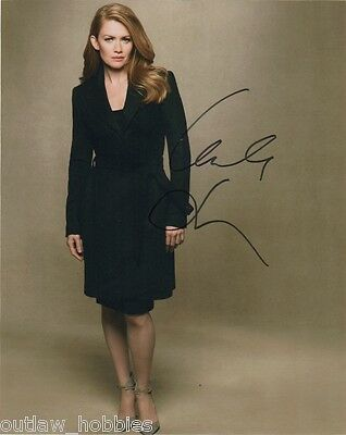 Mireille Enos Autographed Signed 8x10 Photo COA #3