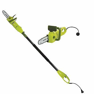 Sun Joe SWJ806E 8-Inch 8.0 Amp 2-in-1 Convertible Pole Chain Saw - Green