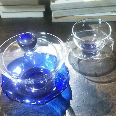 Lid Rice Bowl Yes Set Amber Glass