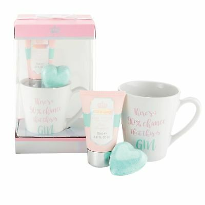 Donne Cosmetico/Coccole Set Regalo - Style And Grace Boccale, Bagno Fizz Set