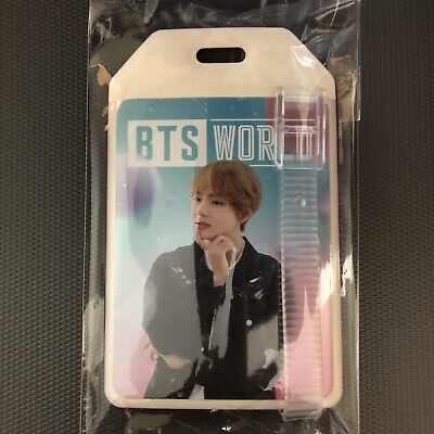 BTS World Ost V Taehyung Luggage Name Tag Weply PreOrder Benefit Limited Edition