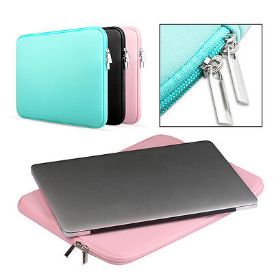 Laptop Case Bag Soft Cover Sleeve Pouch For 11''13''15'' Macbook Pro Notebook AO