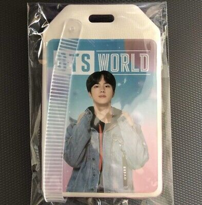 BTS World Ost JIN Luggage Name Tag Weply Pre Order Benefit Limited Edition