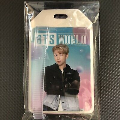 BTS World Ost RM Luggage Name Tag Weply Pre Order Benefit Limited Edition