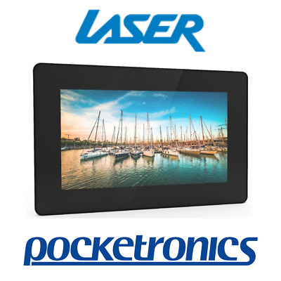 Laser Connect 10-inch Digital Photo Frame AO-DPF1810 Black Wall-mountable 16:9
