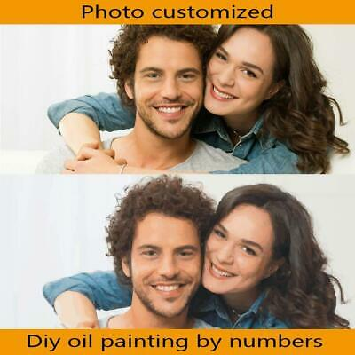 PERSONALIZED Frameless Photo Customized DIY Painting By Numbers Hobby Creativ...