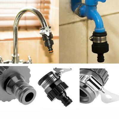 Universal Garden Hose Pipe Tap Connector Mixer Kitchen Bath Tap Faucet Adapter
