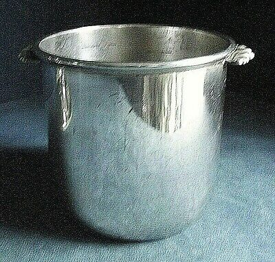 GOOD ~ SILVER Plated ~ ICE Holder BUCKET ~ c1935