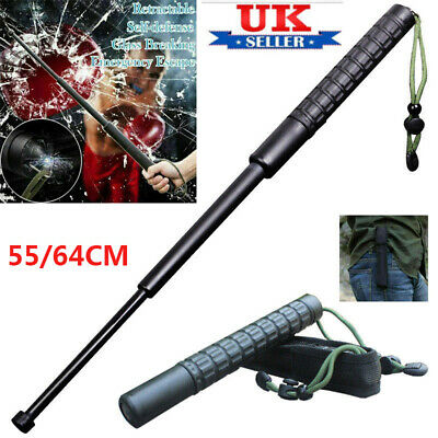 Self-Defense 3 Sections Retractable Telescopic Sticks Portable Outdoor Pet Whip