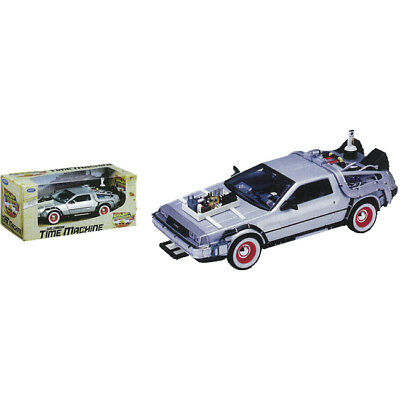 Back to the Future 3 - DeLorean 1/24th Scale Die-Cast Car Replica