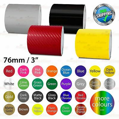 """76mm 3"""" PinStriping Pin Stripe Tape Car DIY Styling Line Decal Vinyl Stickers"""