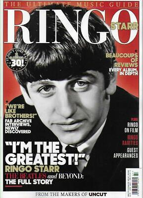 ULTIMATE MUSIC GUIDE MAGA FROM UNCUT- RINGO STARR *Post included to UK/Europe/US