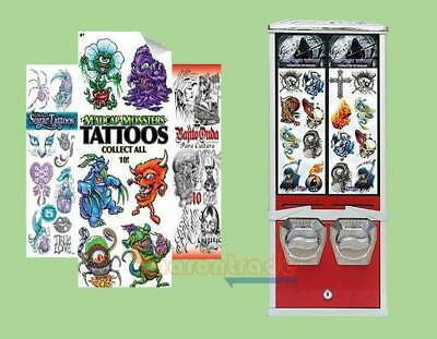 Automatically Tattoo Cards/Stickers vending machine Tattoo Vending machine