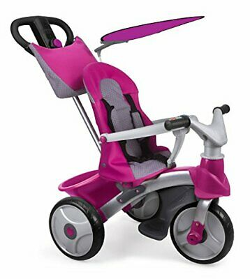 FEBER - Triciclo Baby Trike Easy Evolutio(Baby Trike Easy Evolution rosa)