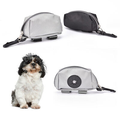 portable pet dog puppy poo waste pick-up bags poop bag holder hook pouch new.