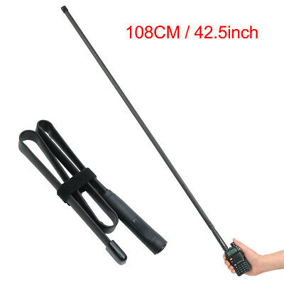 Flexible Soft CS Tactical Antenna Foldable for Baofeng UV-5R Walkie-talkie Radio