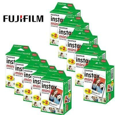 200 Sheets Fujifilm Instax Mini Instant Film For Mini 9 8 8+ 7s Printer SP-3SP1