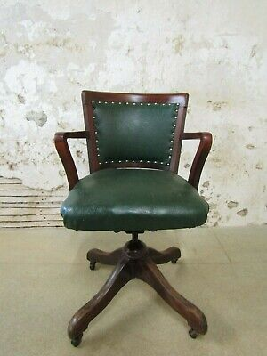 Mahogany Hillcrest Desk Chair, Vintage