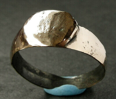SUPERB GENUINE ROMAN BRONZE RING - wearable UK Find