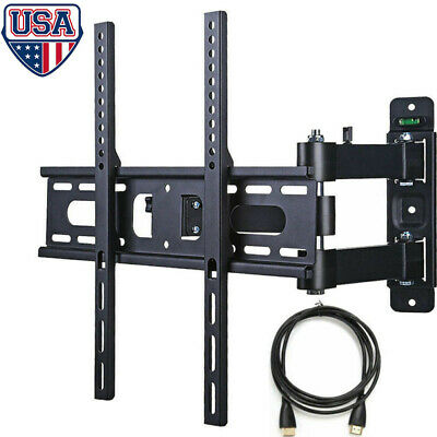 "Full Motion TV Wall Mount Bracket Swivel For 23""25""27""32""37""40""42"" inch LED LCD"