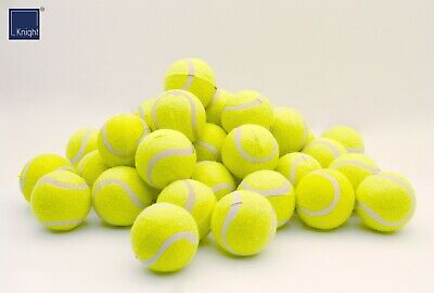 Knight Tennis Balls, Pack of 12, 24 & 36, Sports Cricket Pet Dog Play