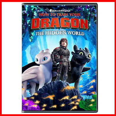 How to Train Your Dragon 3 The Hidden World DVD - New & Sealed - Fast UK Postage