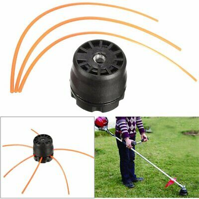 Universal Double Line Trimmer Head Bobbin Set KIT for Gasoline Brush Cutter Lawn