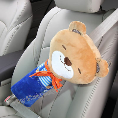 Kid toy Car Safety Strap Padded Cover Pillow Shoulder Cushion Seat Belt Pad Safe