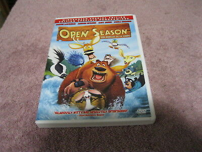 2007 Open Season 86 Minute Kids Dvd Canada English/French Edition See Pics!