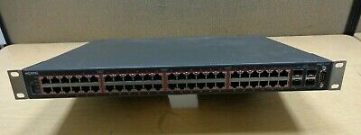 Avaya 4548GT-PWR Ethernet Routing AL4500A 14-E6 48 Port Stackable Gigabit Switch
