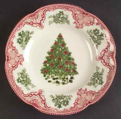 Johnson Bros OLD BRITAIN CASTLES PINK CHRISTMAS Salad Plate (Imperfect) 7661208