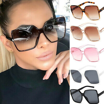 New Oversized Square Sunglasses Women 2019 Shades Men Outdoor Glasses Eyewear
