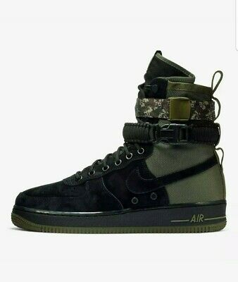 Forces Green Af1 Special Sf Men Camo Boots Nike Force Black Air PnwkO0