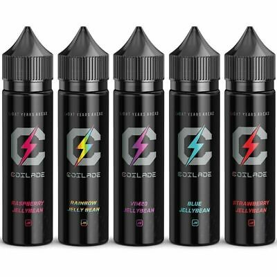 COILADE Premium E Liquid Jelly Bean Candy Flavoured Vape Juice 0mg 3mg 70VG 30PG