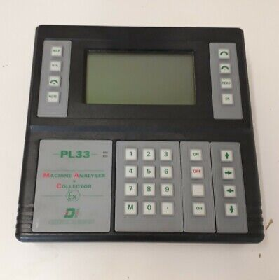 Diagnostic Instruments PL33 Machine Analyser + Collector Ex