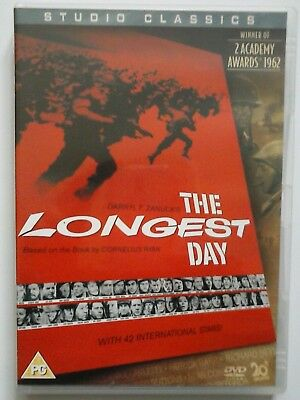 The Longest Day DVD - Region 2 PG
