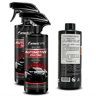 500ML Shine Armor Ceramic Spray Car Polish Spray Top Coat Quick Nano-Coating