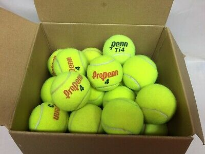 Lot of 40 Used Tennis Balls Dog Toys Chair Legs Walkers Arts & Crafts