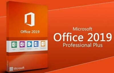 🔥 Microsoft Office 2019 Pro Plus Professional Lifetime License fast Delivery 📩