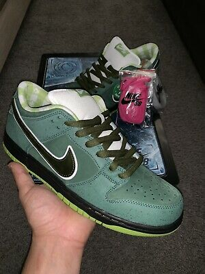 9a29614e Concepts x Nike SB Dunk Low GREEN LOBSTER Mens Size 10.5 DS NEW! Special Box