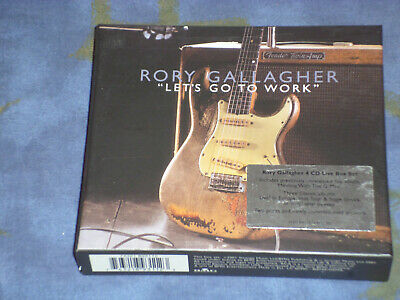 rory gallagher let's go to work 4-CD BOX SET