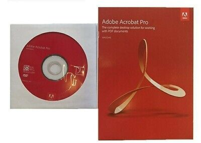 Adobe Acrobat Pro Dc 2019 32/64 Bit Originale Per Windows/Mac Offerta Speciale